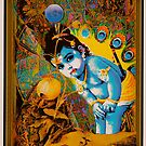 Baby Krishna by Whimzwhirled