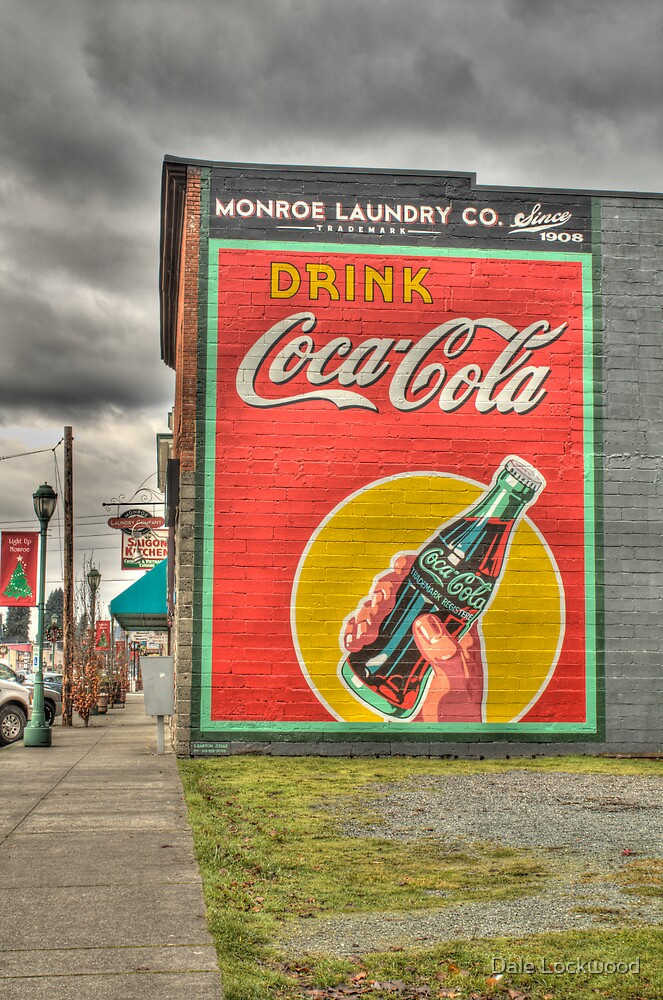 Drink Coca-Cola by Dale Lockwood