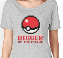 Pokeball - Bigger on the Inside Women's Relaxed Fit T-Shirt