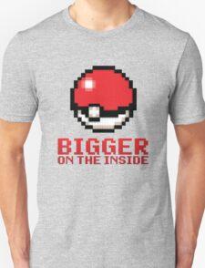 Pokeball - Bigger on the Inside Unisex T-Shirt