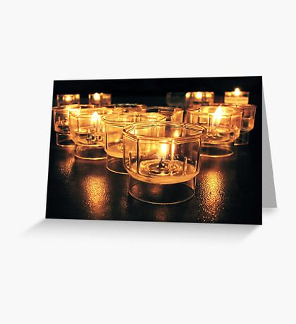 Light a Candle II Greeting Card