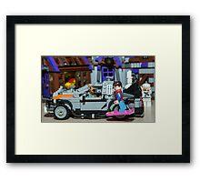 Great Dane! Framed Print