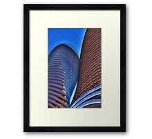 Leaning on His Shoulder Framed Print