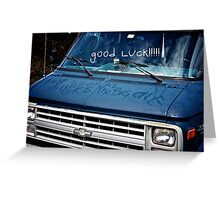 Good Luck!!!!! (Andy Wahral) Greeting Card