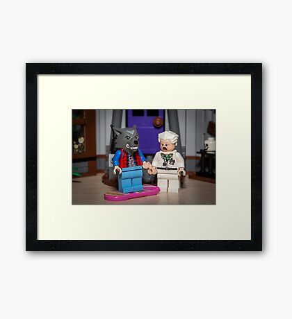 Teen Wolf Marty! Framed Print