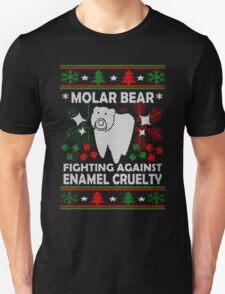 Molar Bear Ugly Christmas T-Shirt