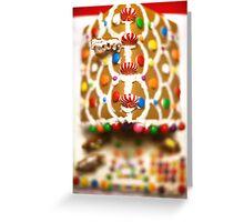 Santa's View Greeting Card