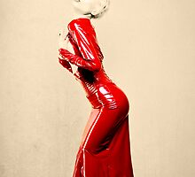 a lady in red by SundaySchool