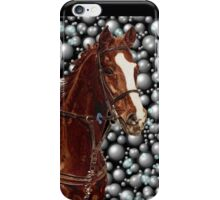 Horse & Bubbles iPhone Cases iPhone Case/Skin