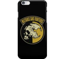 Militaires Sans Frontieres iPhone Case/Skin