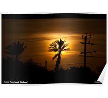 Sunset Over South Hedland Poster