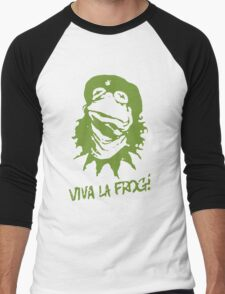 Viva la Frog! Men's Baseball ¾ T-Shirt