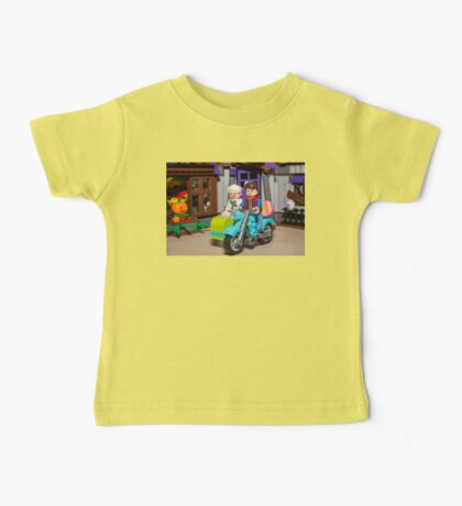 Marty and Doc ride Baby Tee