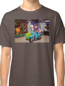 Marty and Doc ride Classic T-Shirt