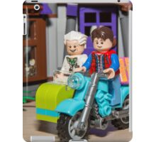Marty and Doc ride iPad Case/Skin