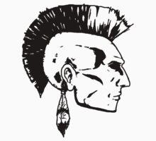 Mohawk Man by onitees