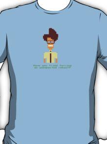 8-Bit Maurice Moss. T-Shirt
