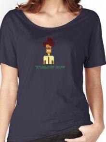 8-Bit Maurice Moss. Women's Relaxed Fit T-Shirt