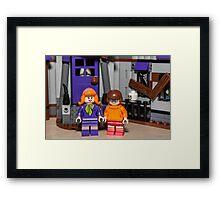 Velma and Daphne Framed Print