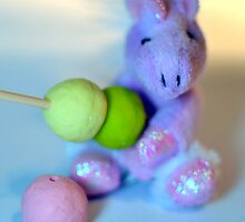 Cute Unicorn with Dango by Cyndiee Ejanda