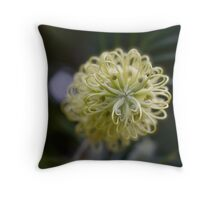 A Curly Situation. Throw Pillow