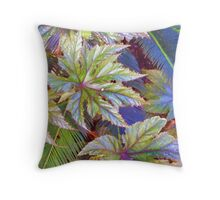 """Lucky Bug's World"" Throw Pillow"