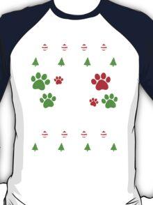 Pit Bull  Ugly Christmas T-Shirt
