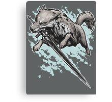 The Swordswolf Canvas Print