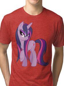 Wet Mane Twilight Sparkle Tri-blend T-Shirt