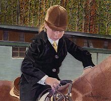 Remember When... Horse and Child Painting by Patricia Barmatz