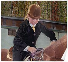Remember When... Horse and Child Painting Poster