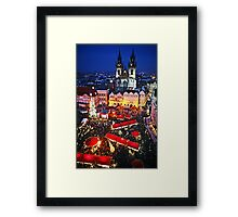 Prague Christmas Markets Framed Print