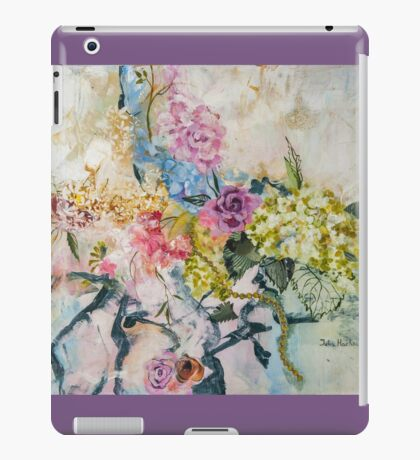 Morning flowers iPad Case/Skin