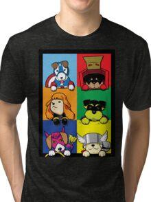 Pups Assemble Tri-blend T-Shirt