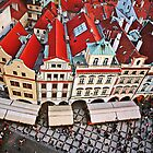 Buildings in Prague, Czech Republic by ieatstars