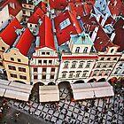 Buildings in Prague, Czech Republic by ieatstars