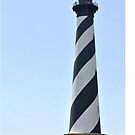 Hatteras Lighthouse (color) by Robin Lee