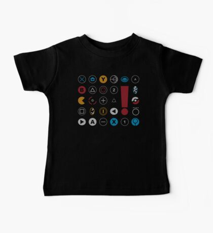 Video Game Icons Baby Tee