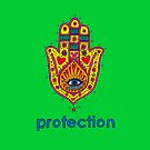 * Passion * Peace * Protection * A Wish For A T-Shirt: Protection by cectimm