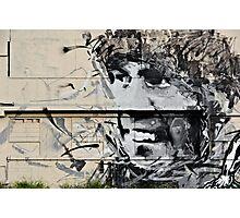 Charming Graffiti Smile Photographic Print