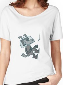 Space Dog Shirt Women's Relaxed Fit T-Shirt