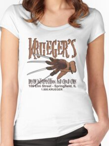 Krueger's Dream Interpretation And Child Care Women's Fitted Scoop T-Shirt