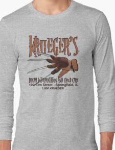 Krueger's Dream Interpretation And Child Care Long Sleeve T-Shirt