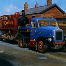 Scammell Highwayman lowloader. by Mike Jeffries