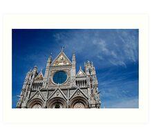 Duomo, Siena. Art Print