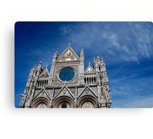Duomo, Siena. Canvas Print