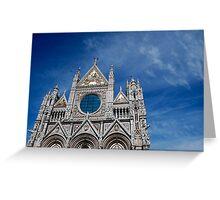 Duomo, Siena. Greeting Card