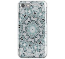 Baroque Blue Rosette- N55 iPhone Case/Skin