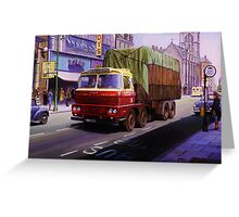 Smith of Maddiston Scammell Routeman II Greeting Card