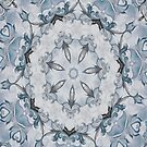Baroque Blue Rosette- N67 by Heidivaught